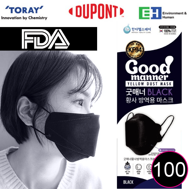 Good Manner KF94 Mask with FDA and Ce Approval