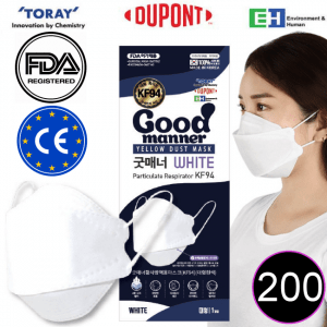 good manner kf94 mask white